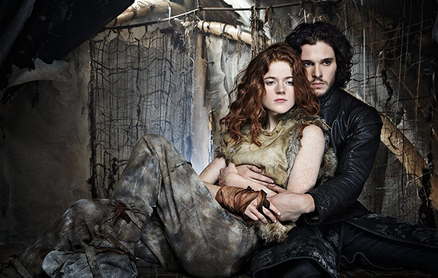 Game of thrones kit harington and rose leslie are on for Harrington craft show 2017